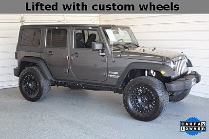 2017 Jeep Wrangler 4WD Unlimited Sport for sale 100970017