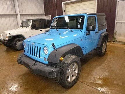 2017 Jeep Wrangler 4WD Sport for sale 100986519
