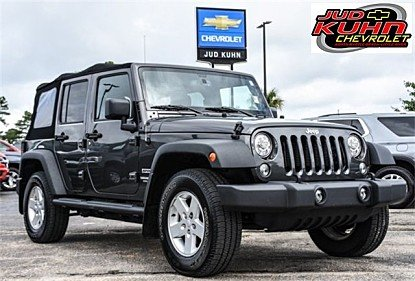 2017 Jeep Wrangler 4WD Unlimited Sport for sale 100990951