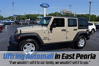 2017 Jeep Wrangler 4WD Unlimited Sport for sale 100996165