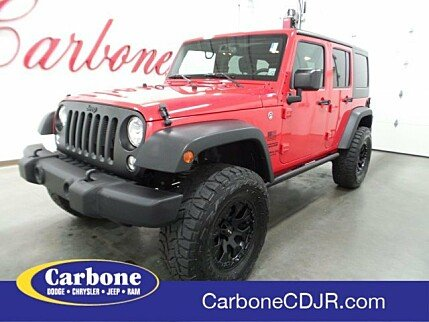 2017 Jeep Wrangler 4WD Unlimited Sport for sale 101021511
