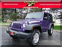 2017 Jeep Wrangler 4WD Sport for sale 101027067