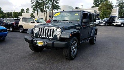 2017 Jeep Wrangler 4WD Unlimited Sahara for sale 101031040