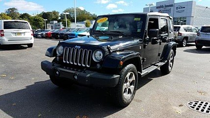 2017 Jeep Wrangler 4WD Unlimited Sahara for sale 101040278
