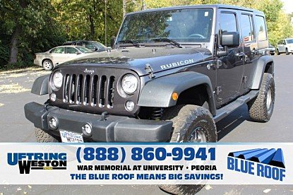 2017 Jeep Wrangler 4WD Unlimited Rubicon for sale 101043756