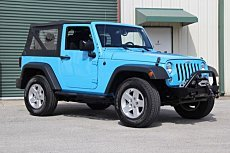 2017 Jeep Wrangler 4WD Sport for sale 101053174