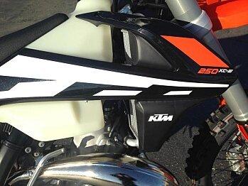 2017 KTM 250XC-W for sale 200502651