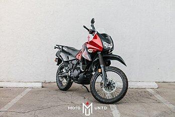 2017 Kawasaki KLR650 for sale 200502669