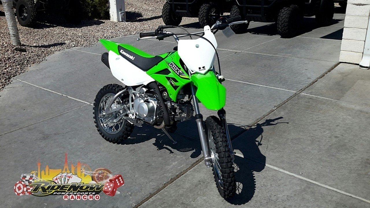 2017 Kawasaki KLX110 for sale 200413732