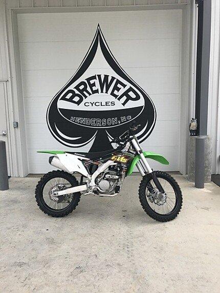 2017 Kawasaki KX250F for sale 200485705