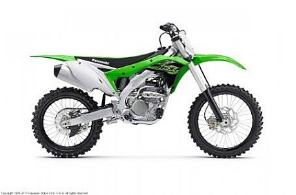 2017 Kawasaki KX250F for sale 200500720