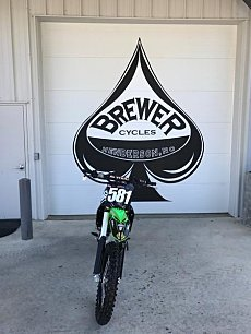 2017 Kawasaki KX250F for sale 200630126