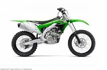 2017 Kawasaki KX450F for sale 200430574