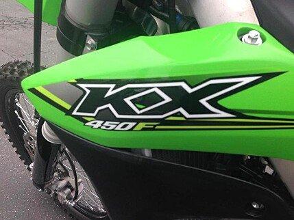2017 Kawasaki KX450F for sale 200502670