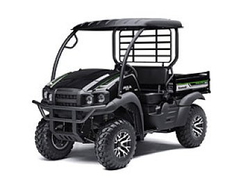 2017 Kawasaki Mule SX 4x4 XC SE for sale 200421073