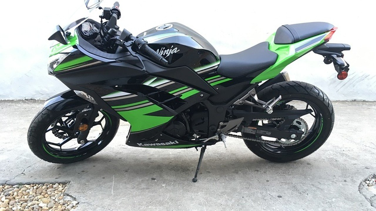 2017 Kawasaki Ninja 300 ABS for sale 200425284