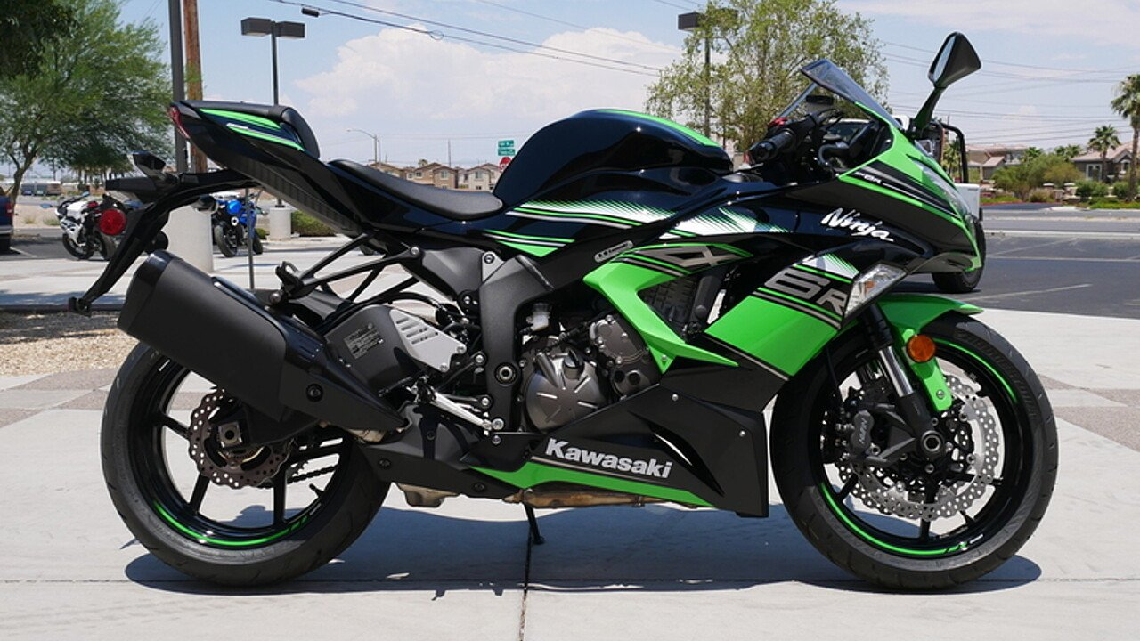 2017 Kawasaki Ninja ZX-6R for sale 200421433