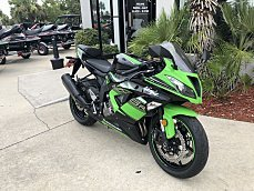 2017 Kawasaki Ninja ZX-6R for sale 200598974