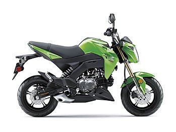 2017 Kawasaki Z125 Pro for sale 200547106