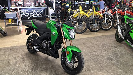 2017 Kawasaki Z125 Pro for sale 200437531