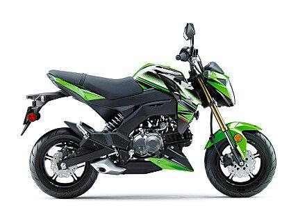 2017 Kawasaki Z125 Pro for sale 200467948