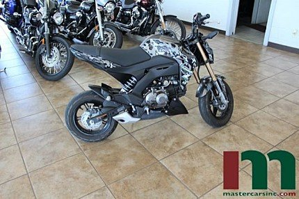 2017 Kawasaki Z125 Pro for sale 200601931