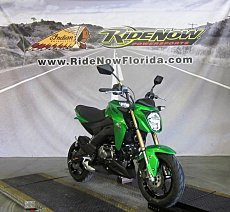 2017 Kawasaki Z125 Pro for sale 200628011