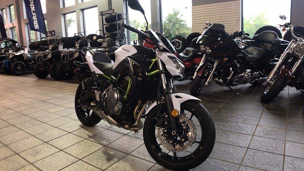 2017 Kawasaki Z650 for sale 200422303