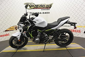 2017 Kawasaki Z650 for sale 200460844