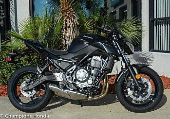 2017 Kawasaki Z650 for sale 200571177