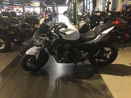 2017 Kawasaki Z650 for sale 200600339