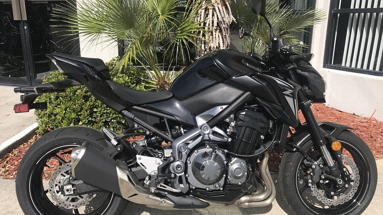 2017 Kawasaki Z900 for sale 200571022