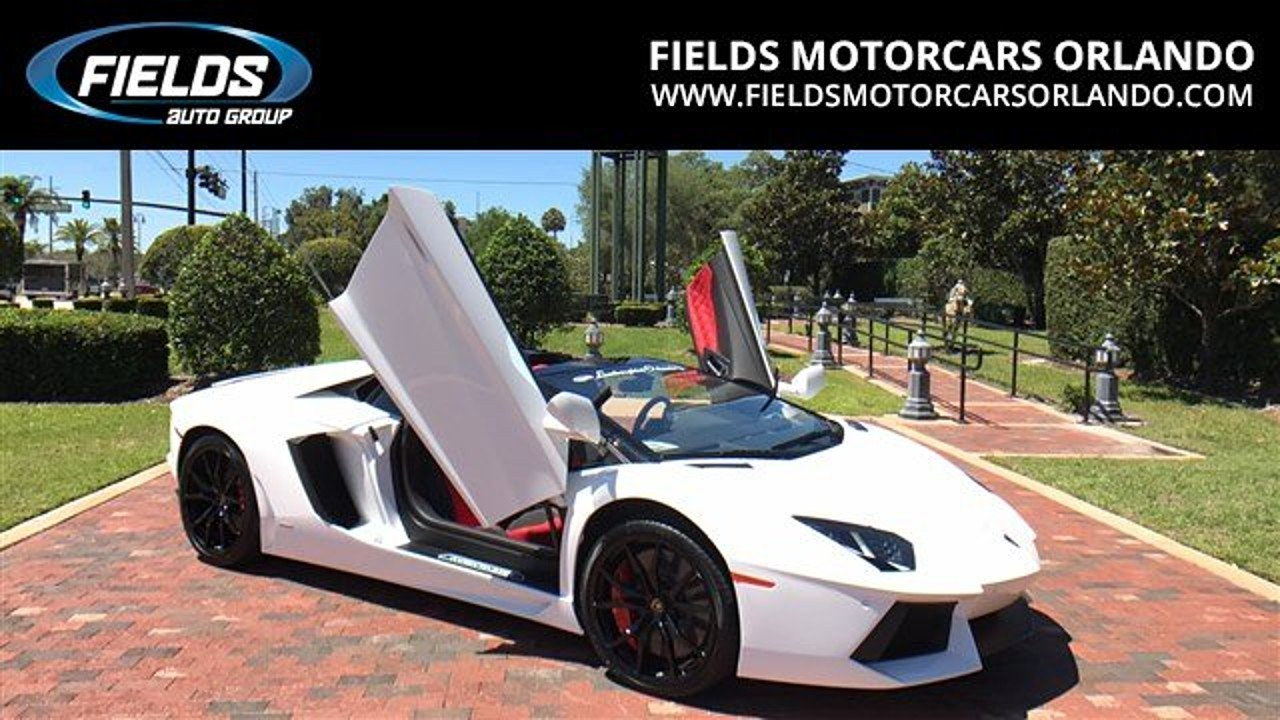 2017 Lamborghini Aventador LP 700-4 Roadster for sale 100889961