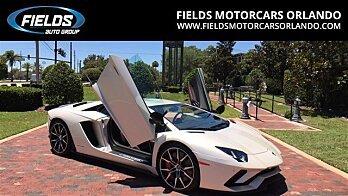 2017 Lamborghini Aventador S Coupe for sale 100889963