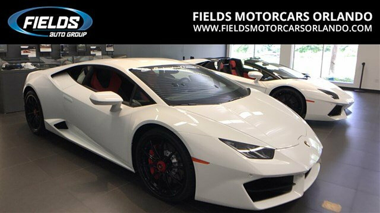 2017 Lamborghini Huracan for sale 100889175
