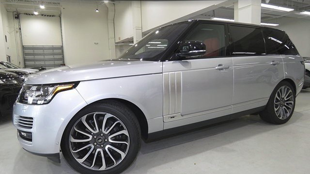 2017 Land Rover Range Rover for sale 100904102