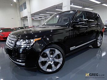 2017 Land Rover Range Rover for sale 101007887