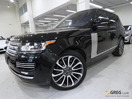 2017 Land Rover Range Rover for sale 100988706