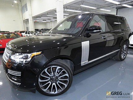 2017 Land Rover Range Rover for sale 100995519