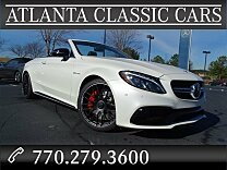 2017 Mercedes-Benz C63 AMG S Cabriolet for sale 100839050