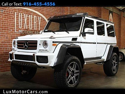 2017 Mercedes-Benz G550 Squared for sale 100984530