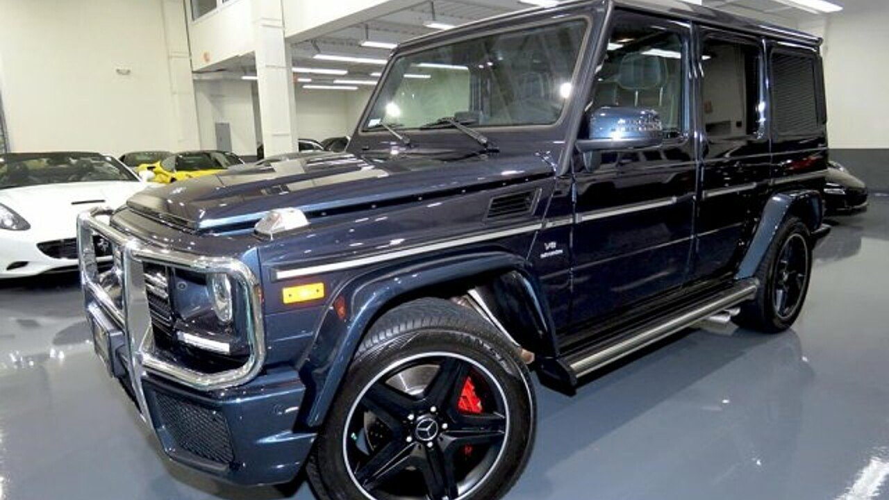 2017 Mercedes-Benz G63 AMG for sale 100996325