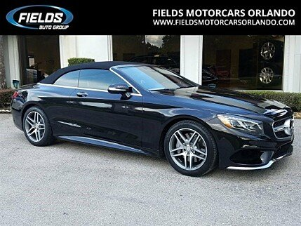 2017 Mercedes-Benz S550 Cabriolet for sale 100784668