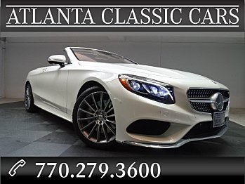 2017 Mercedes-Benz S550 Cabriolet for sale 100794862