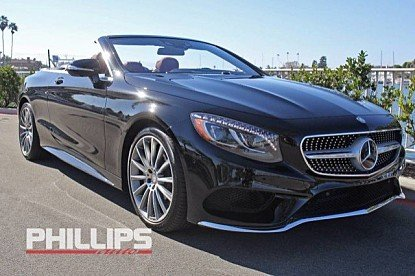 2017 Mercedes-Benz S550 Cabriolet for sale 100842262