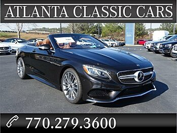 2017 Mercedes-Benz S550 Cabriolet for sale 100934526