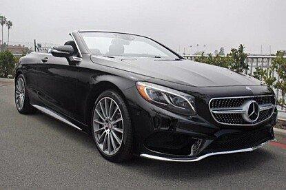 2017 Mercedes-Benz S550 Cabriolet for sale 100855625