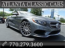 2017 Mercedes-Benz S550 Cabriolet for sale 100862878