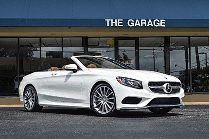 2017 Mercedes-Benz S550 Cabriolet for sale 100881289