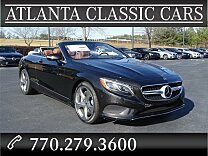 2017 Mercedes-Benz S550 Cabriolet for sale 100930859